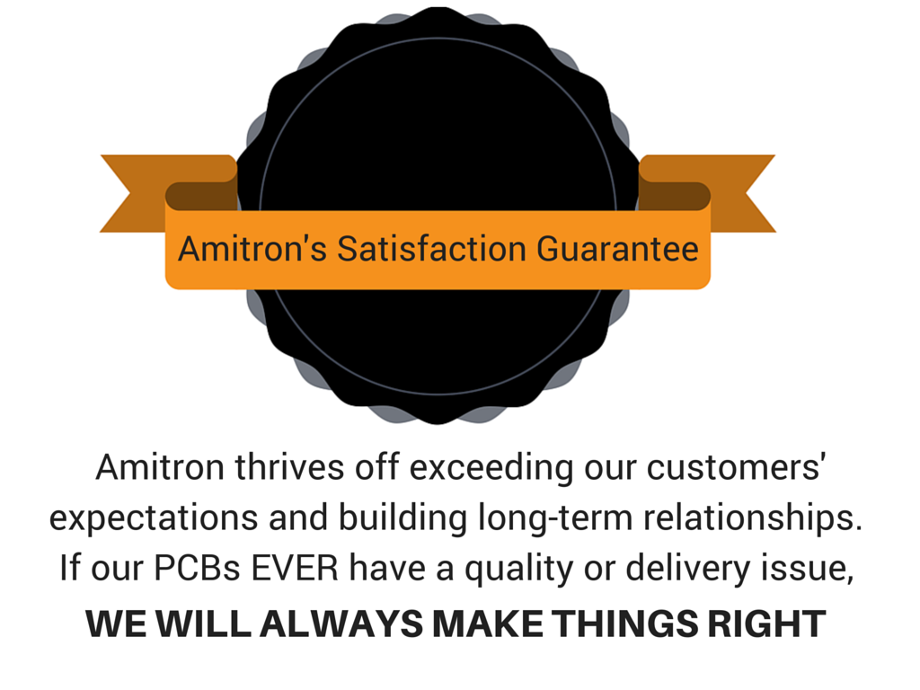 Amitron Quality Guarantee
